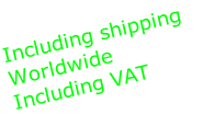 Including shipping
